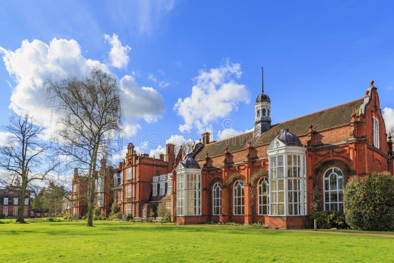 Beaux endroits autour de l'Université de Cambridge célèbre photographie stock