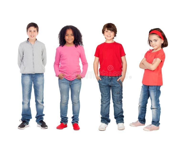 Beaux enfants images stock