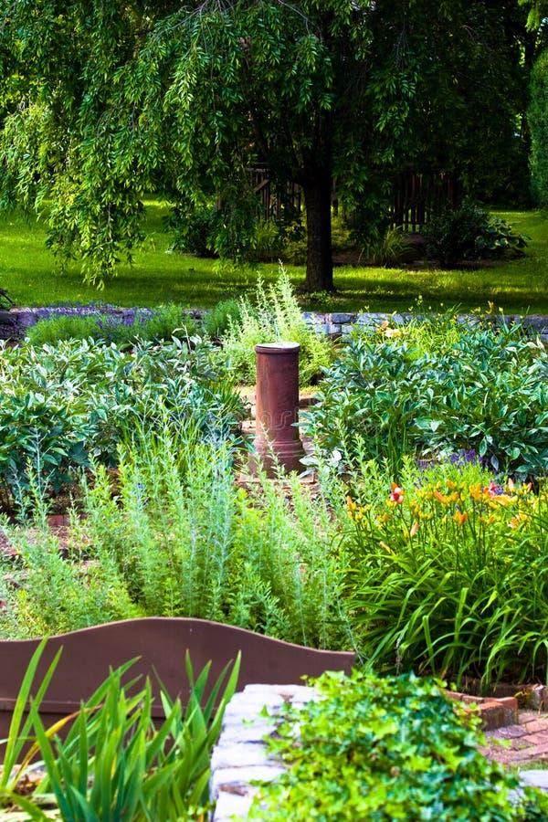 Beaux jardins photographie stock