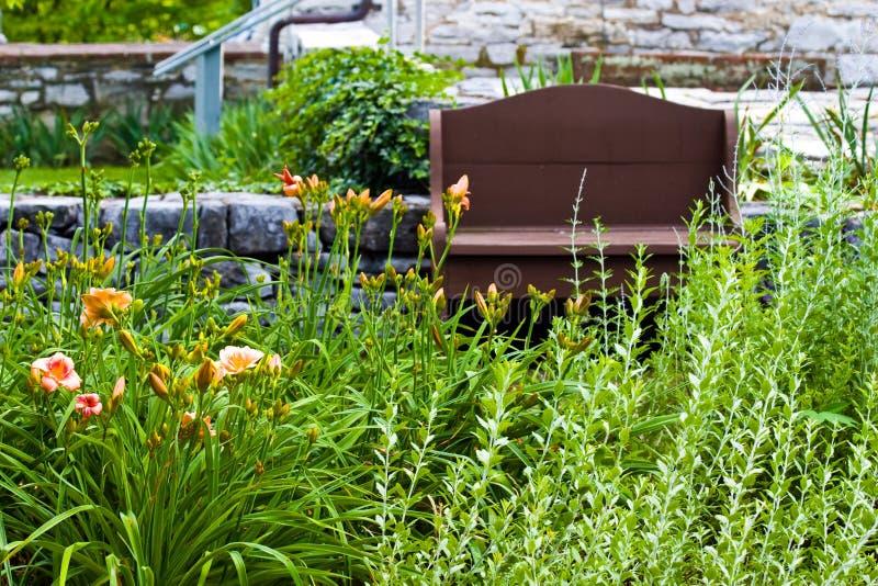 Beaux jardins photos stock