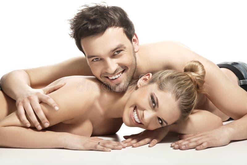 Beaux Jeunes Couples Photographie stock