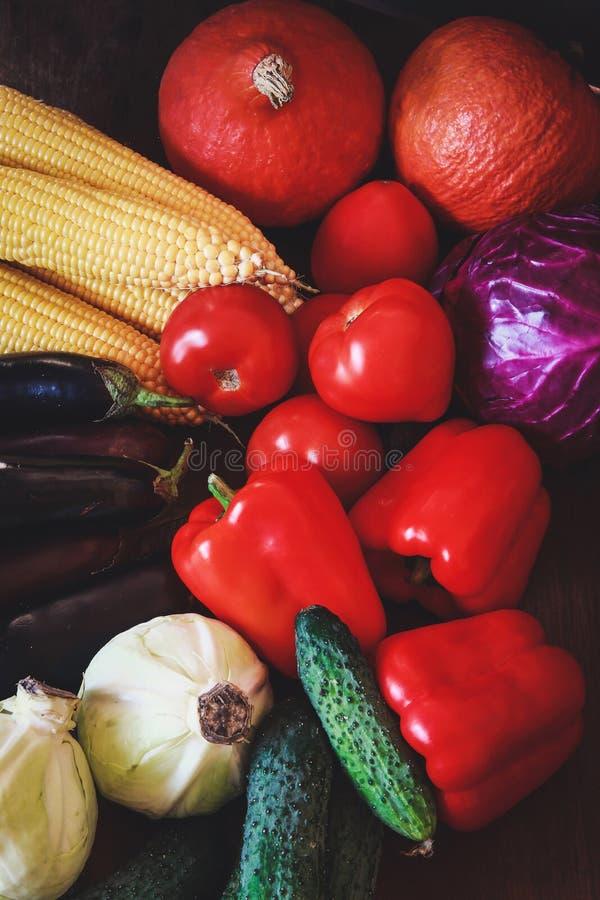 Beaux légumes juteux d'automne photographie stock libre de droits