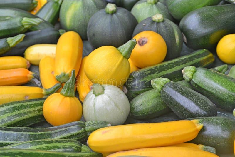 Beaux légumes sur le marché photographie stock