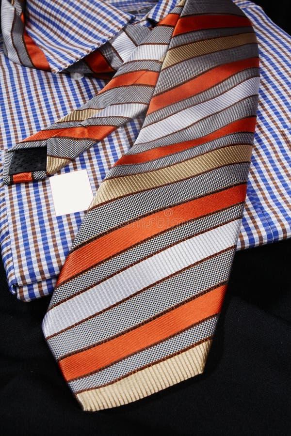 Beaux lien et chemise habillée images libres de droits