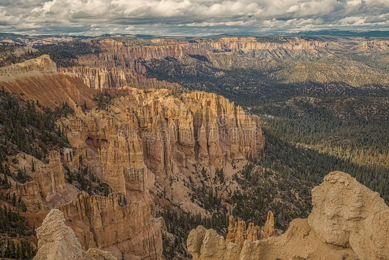 Beaux murs de Bryce Canyon National Park photo stock