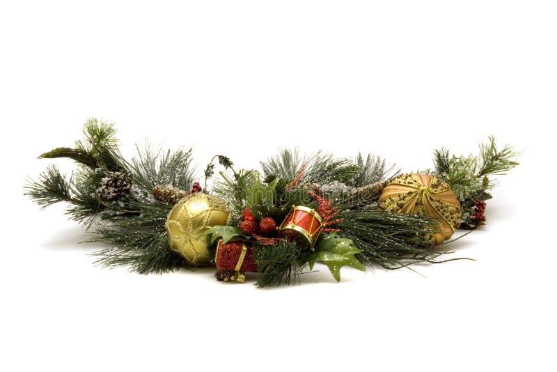 Beaux ornements de Noël photographie stock libre de droits