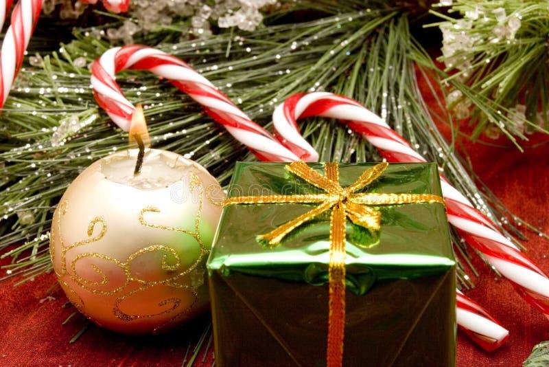 Beaux ornements de Noël photos libres de droits