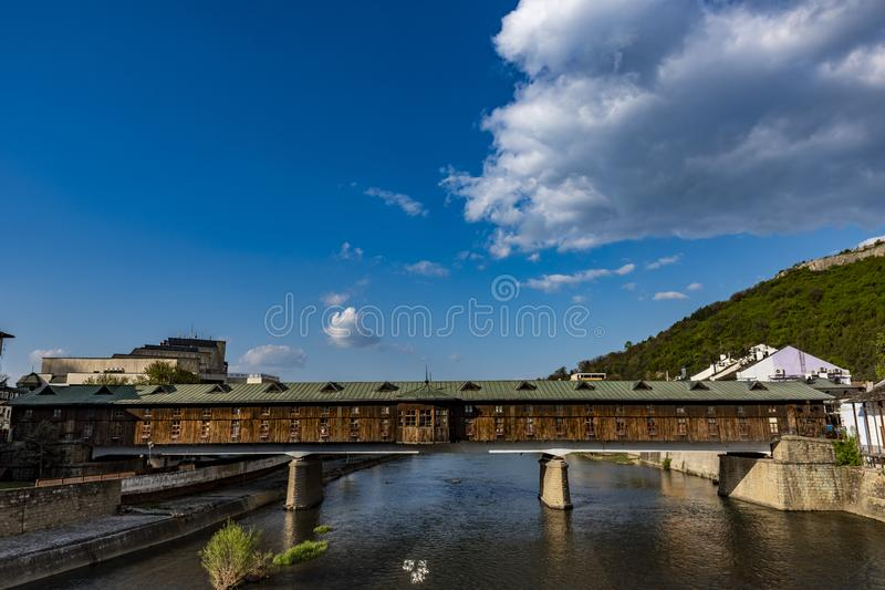 Beaux paysages de Lovech Bulgarie image stock
