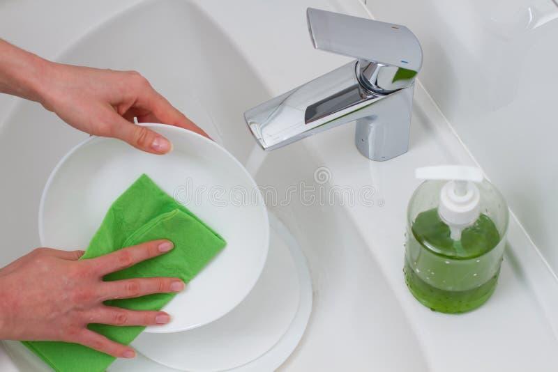 Beaux platsde lavage de handsimages stock