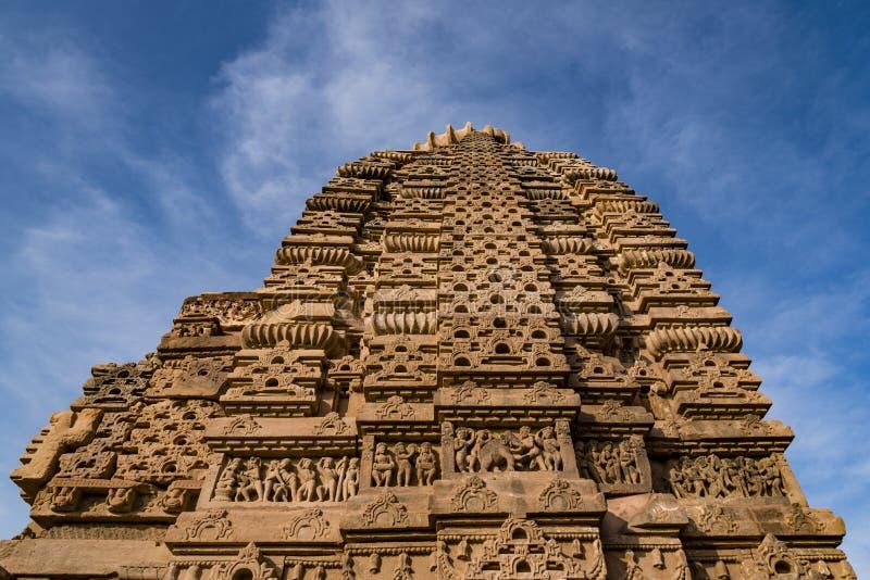 Beaux temples Jain antiques découpés construits dans l'ANNONCE du 6ème siècle dans Osian, Inde photographie stock