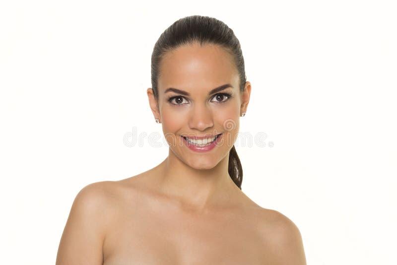 Beaux visages de femme photos stock