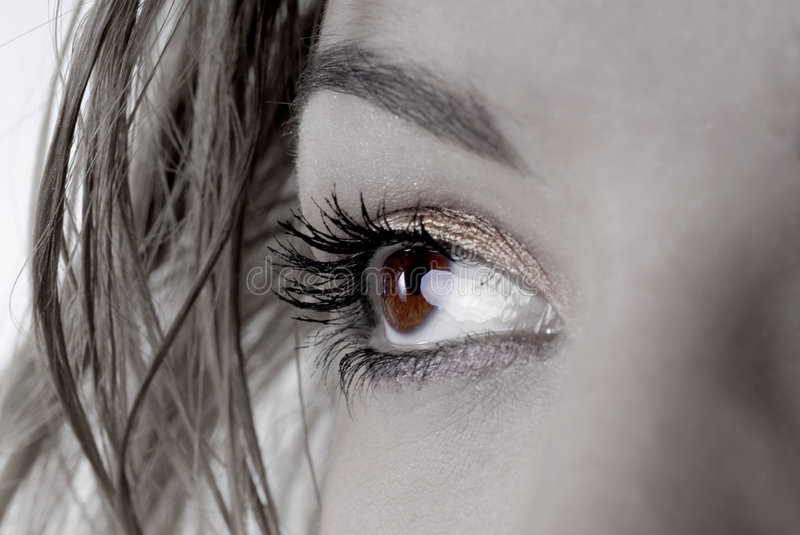 Beaux yeux images stock