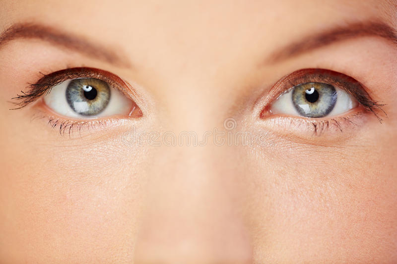 Beaux yeux image stock
