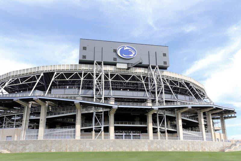 Beaver Stadium em Penn State fotos de stock royalty free