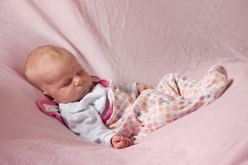 Bebé 1 mes imagenes de archivo