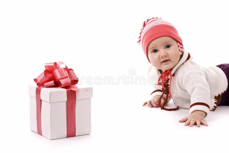 Download Bebé imagem de stock. Imagem de chapéu, celebration, crianças - 16850781