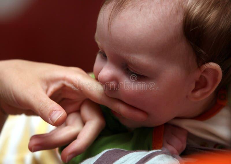 Bebé 4 meses fotos de archivo libres de regalías