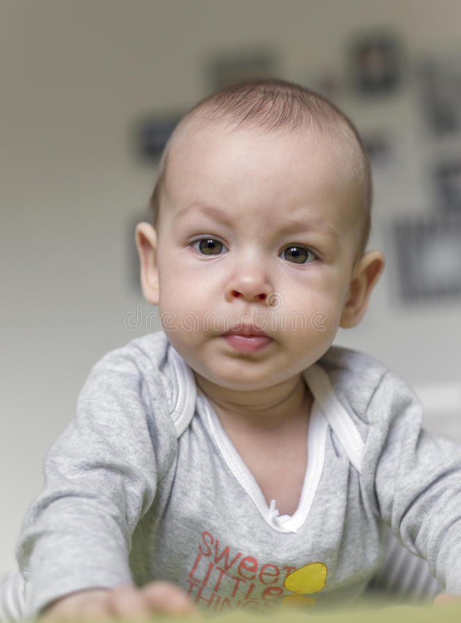 Bebé adorável imagem de stock royalty free