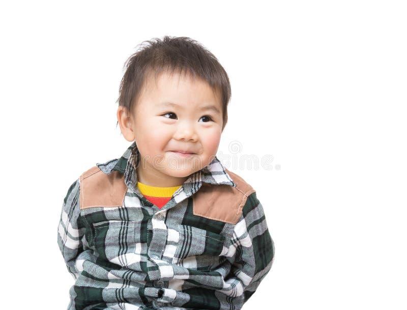Bebé asiático dulce imagen de archivo libre de regalías