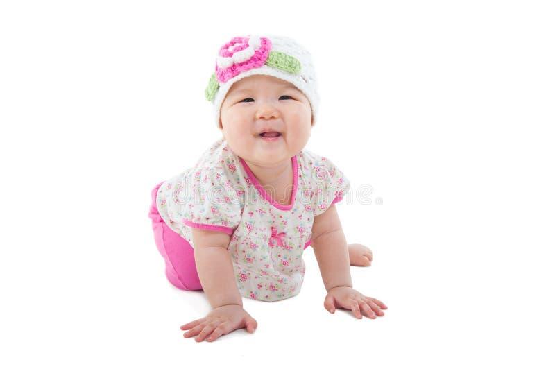 Bebé asiático precioso fotos de archivo libres de regalías