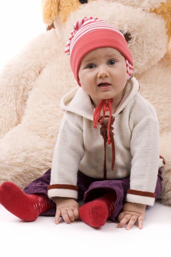 Download Bebé bonito imagem de stock. Imagem de olhos, cheerful - 16850777