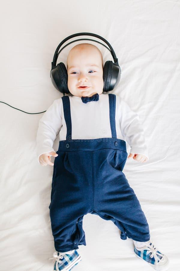 Bebé de DJ imágenes de archivo libres de regalías
