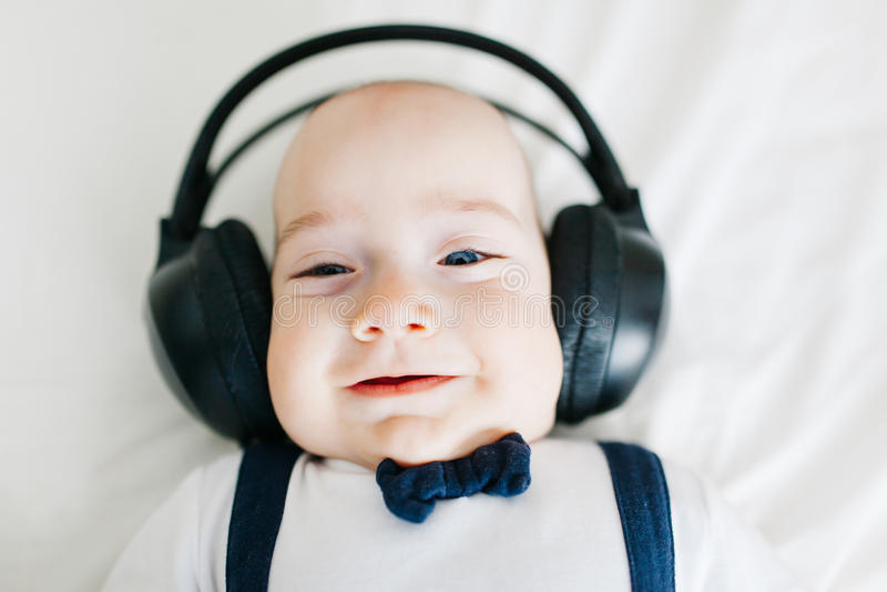 Bebé de DJ foto de archivo libre de regalías