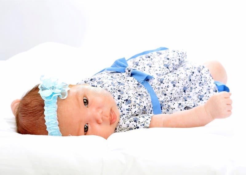 Bebé de dos meses imagen de archivo libre de regalías