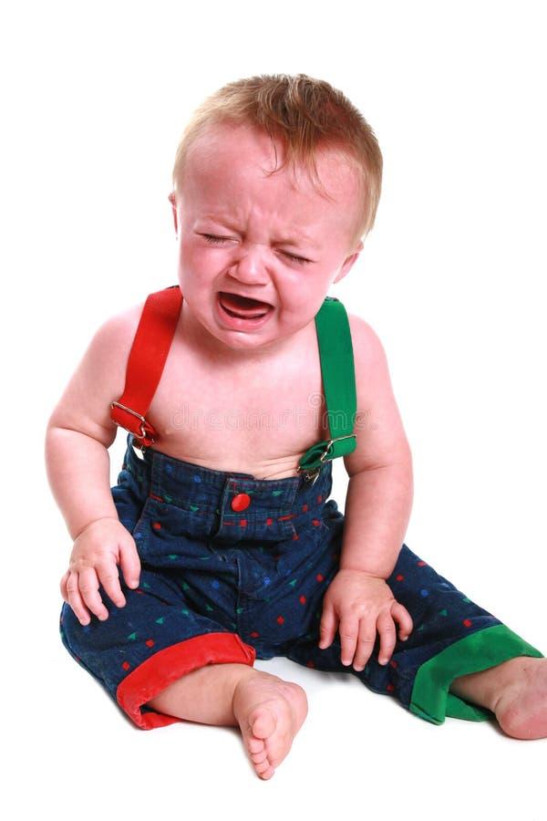Bebé de griterío imágenes de archivo libres de regalías