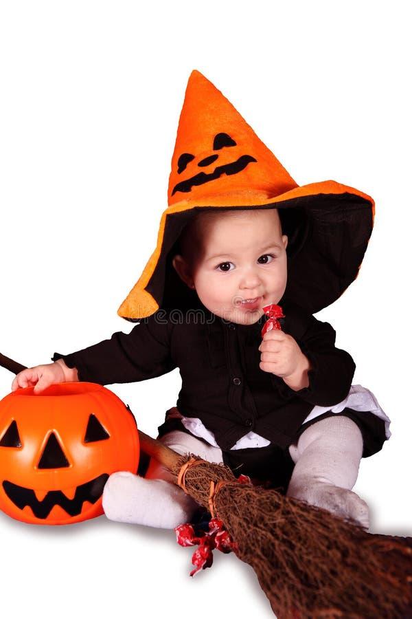Bebé de Halloween imagen de archivo