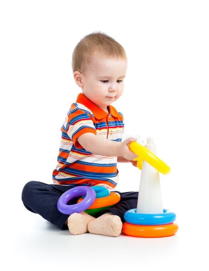 Download Jogos do bebé foto de stock. Imagem de criança, pirâmide - 29838426
