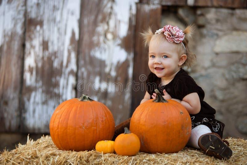 Bebé de la calabaza imágenes de archivo libres de regalías