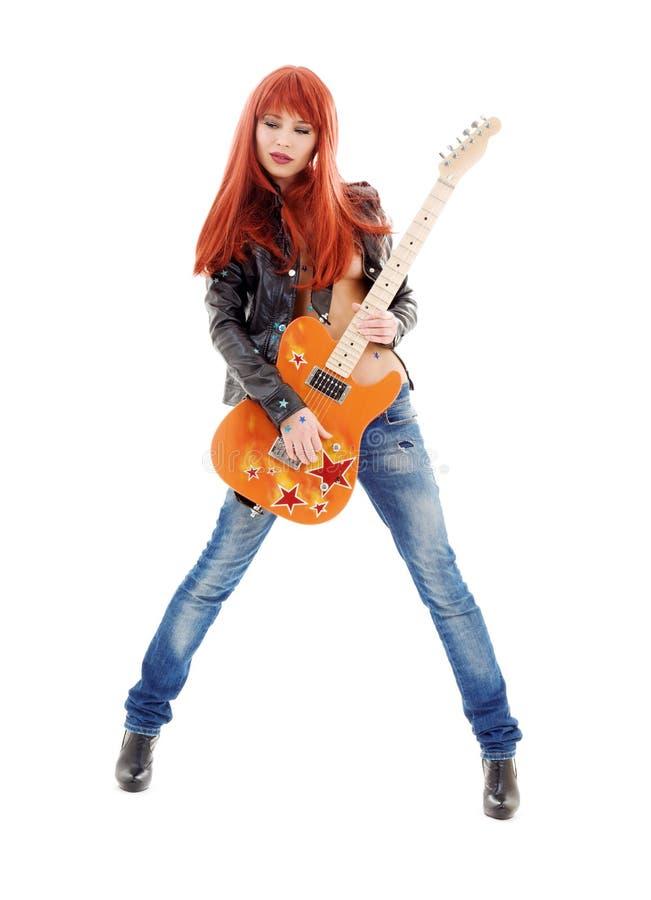 Bebé de la guitarra fotos de archivo