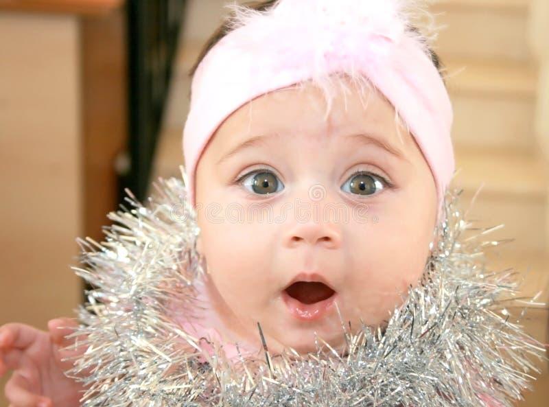 Bebé de la Navidad fotos de archivo libres de regalías