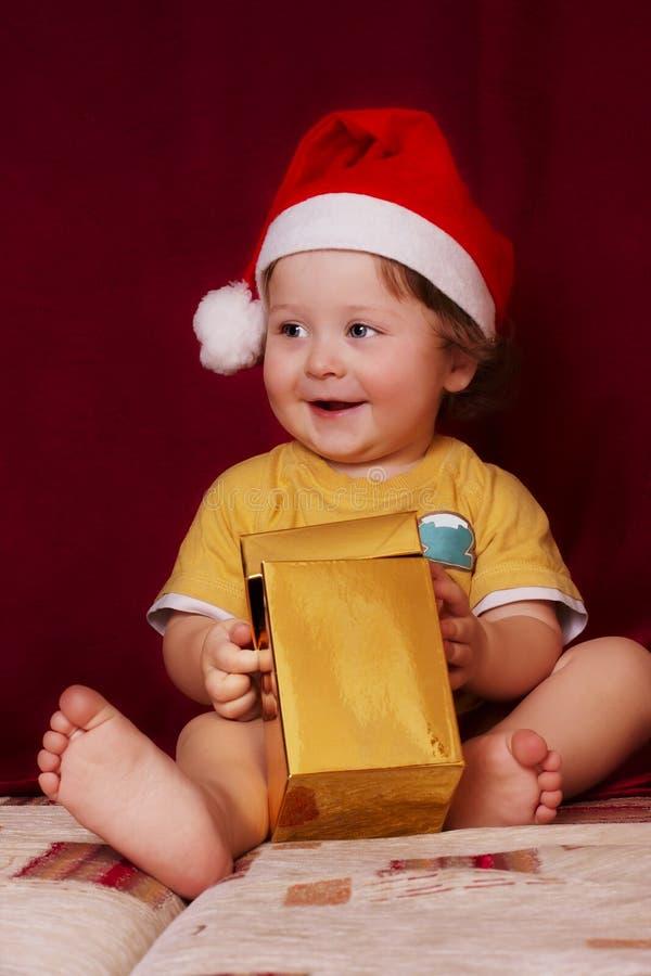 Bebé De La Navidad Fotografía de archivo