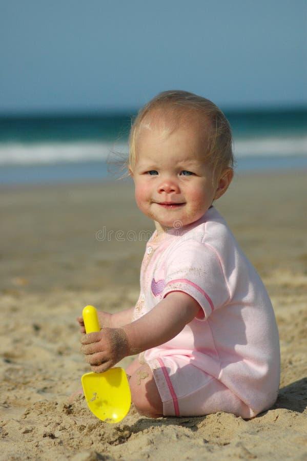 Bebé de la sol fotografía de archivo