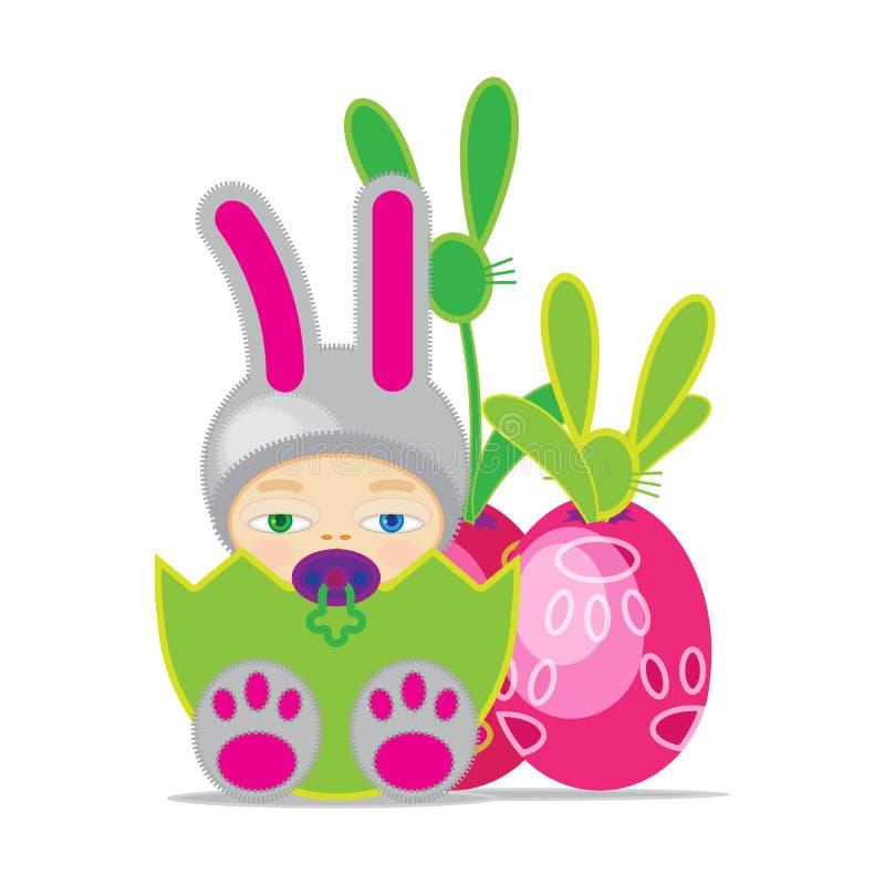 Bebé de Pascua fotos de archivo libres de regalías