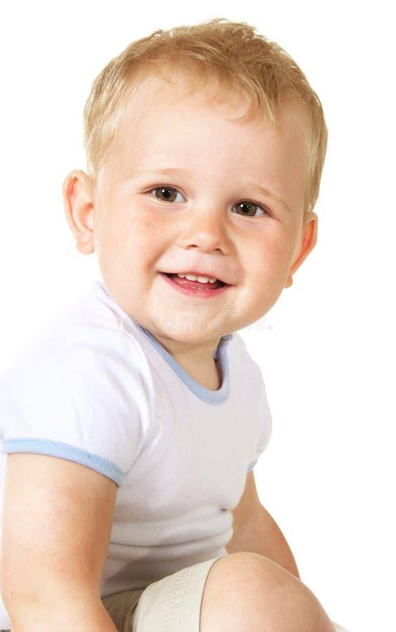 Bebé de riso fotografia de stock