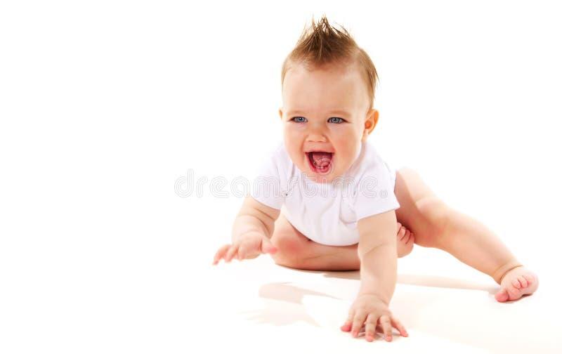 Bebé de riso imagens de stock royalty free