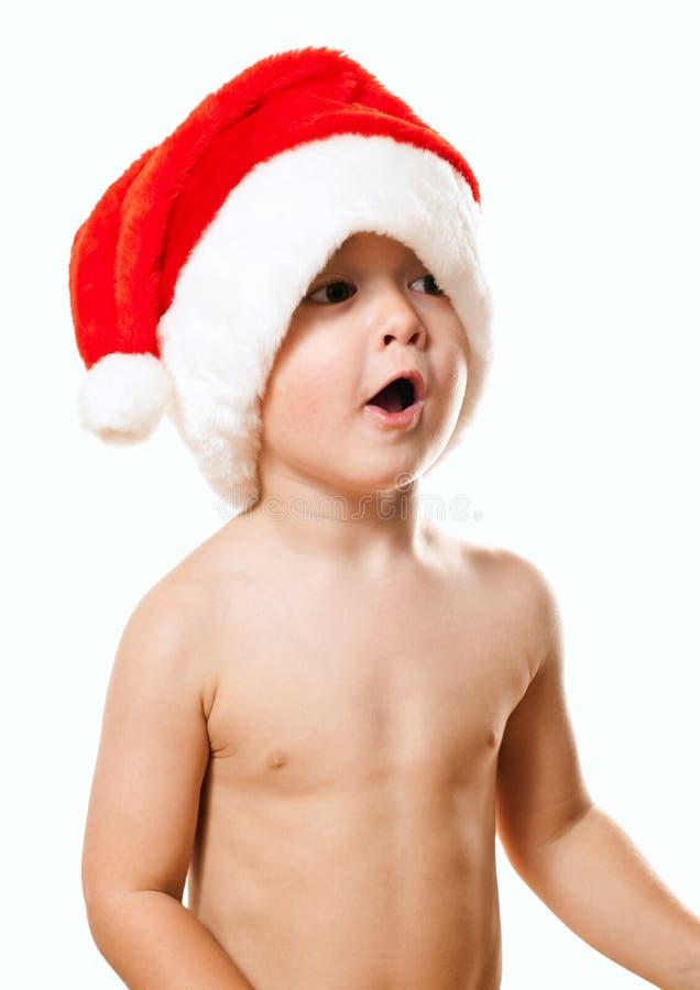 Bebé de Santa fotos de archivo libres de regalías