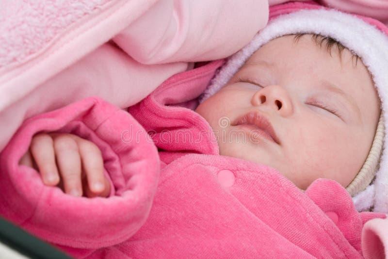 Bebé de Sleepping fotos de archivo libres de regalías