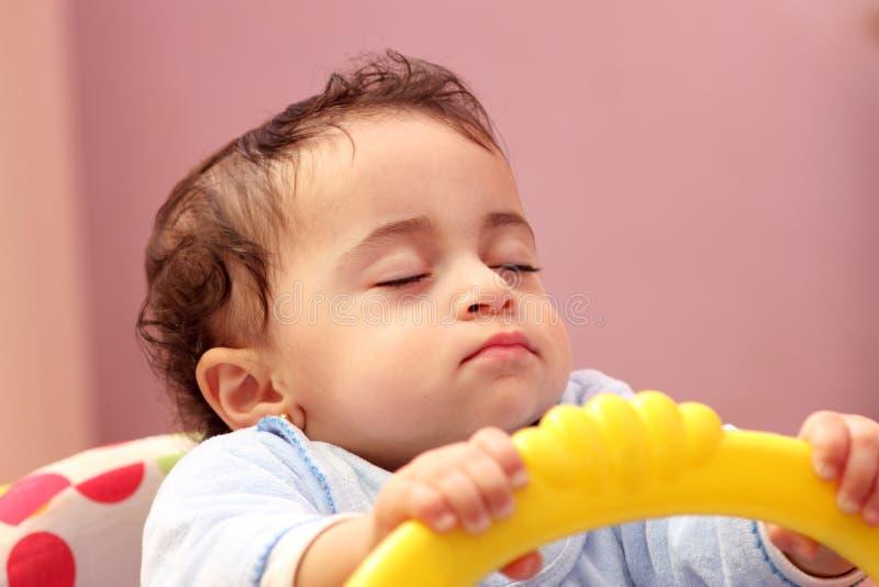 Bebé de sono foto de stock