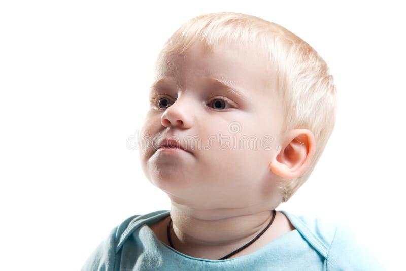 Bebé de sorriso fotografia de stock royalty free
