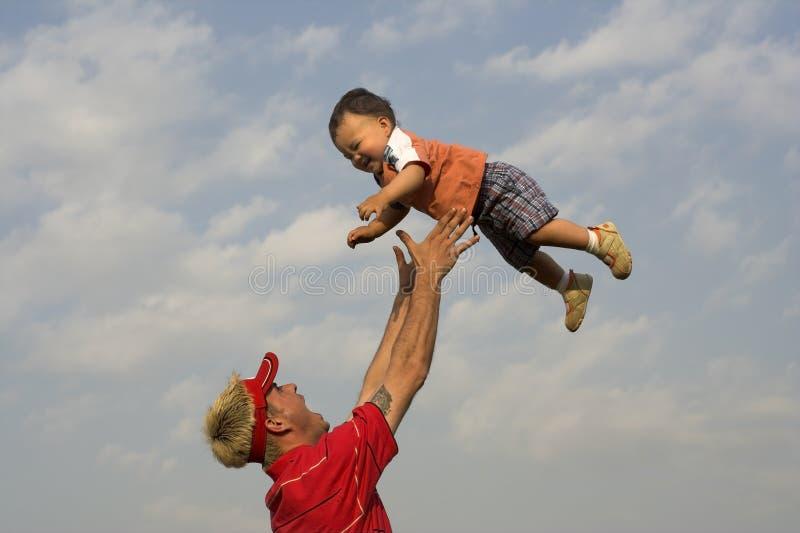 Bebé del aire imagen de archivo