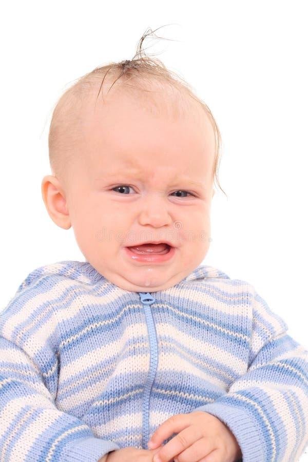 Bebé del grito del grito fotografía de archivo libre de regalías