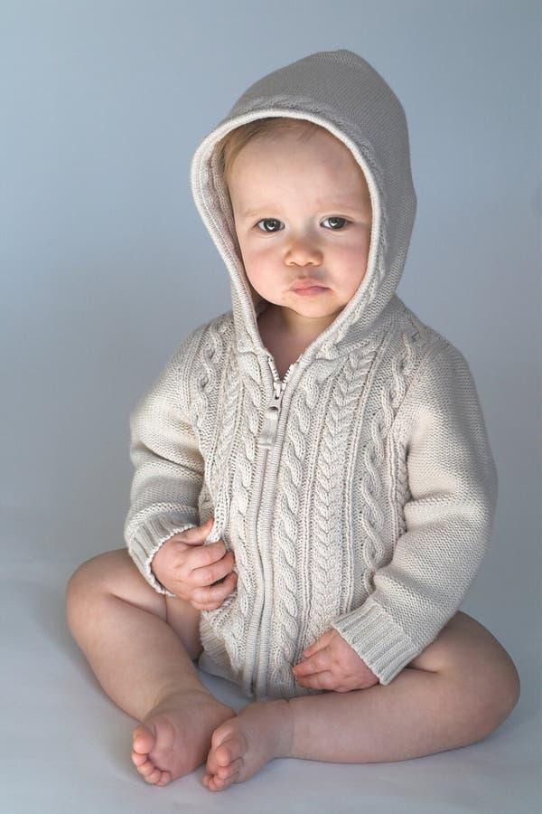 Bebé del suéter fotos de archivo libres de regalías