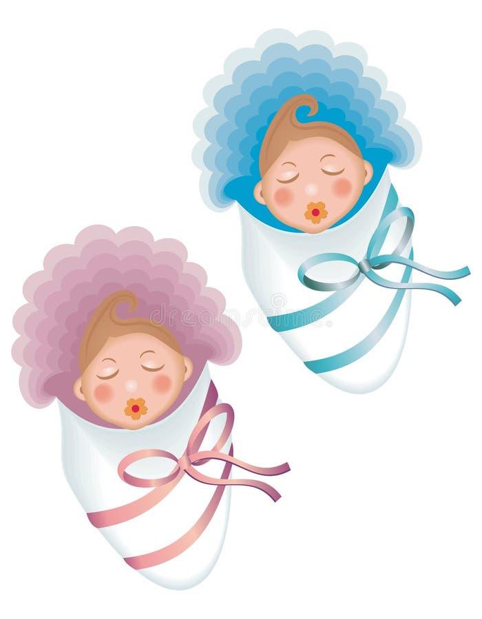 Bebé del sueño libre illustration