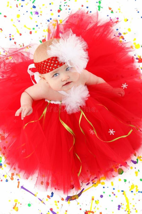 Bebé del tutú fotos de archivo