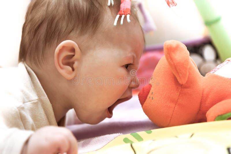Bebé del valor imagen de archivo libre de regalías