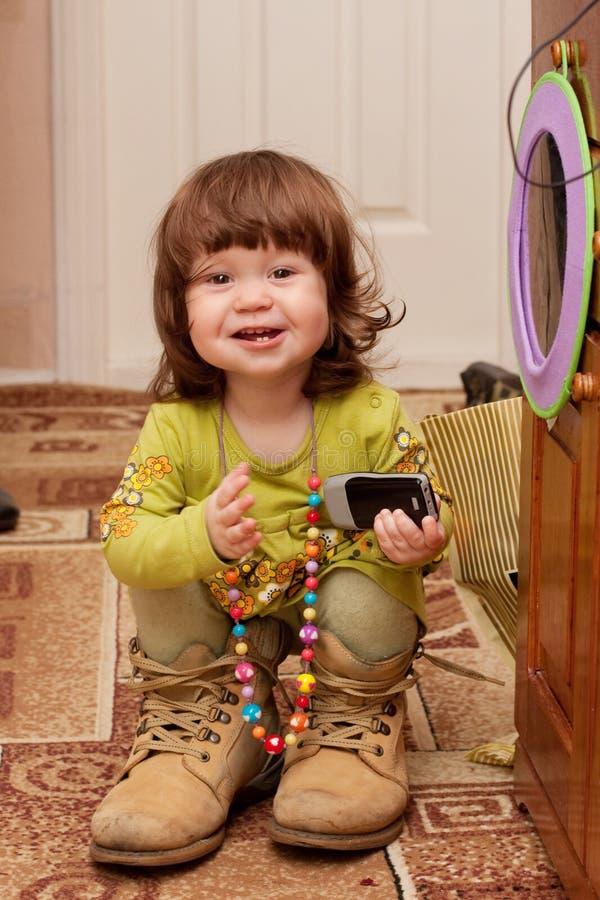 Bebé doce fotografia de stock royalty free